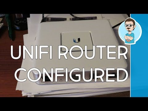 Configure Unifi Gateway Router and SDN Controller!