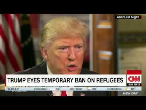 Donald Trump - Muslim Ban