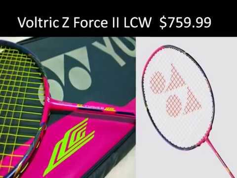 Top 5  Expensive Badminton rackets -2017 | Yonex