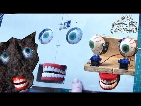 Build A Robot Animatronic Face For 30 Quid for a modular synth?