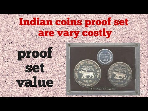 Indian coins proof set are very costly.