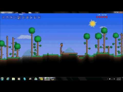 How to make a Shelter in Terraria