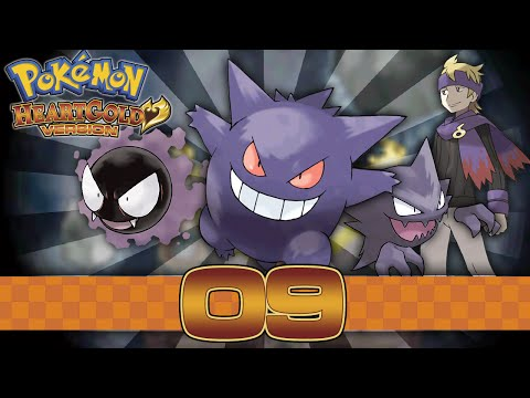 Pokemon HeartGold - Part 9 - Gym Leader Morty!