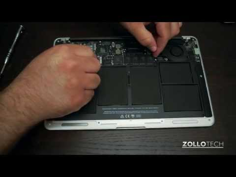 MacBook Air SSD Upgrade or Replacement Guide