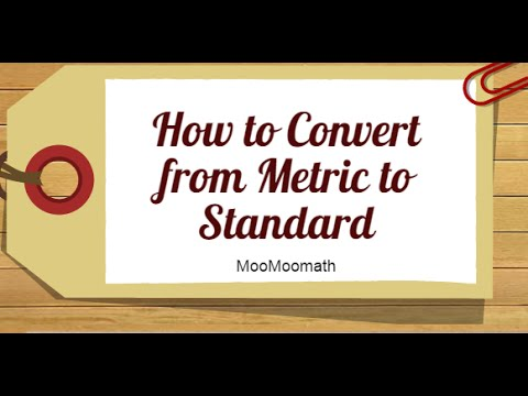 How to convert metric to US Standard length/Centimeters,Kilometers,Inches