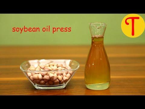 Soybean Oil Press - Make Soybean Oil At Home - Tenguard Oil Press