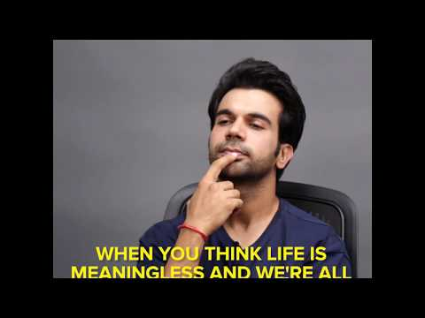 Rajkummar Rao Says The Same Line In 15 Emotions