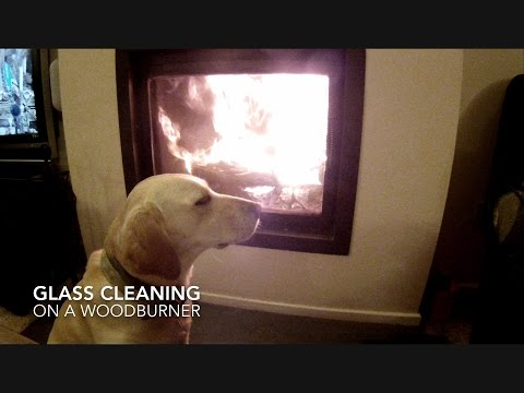 How to Clean the Glass on a Wood Burner Stove
