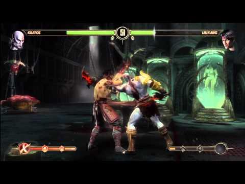 [HD] MK9 Kratos Ladder Gameplay  Pt. 2