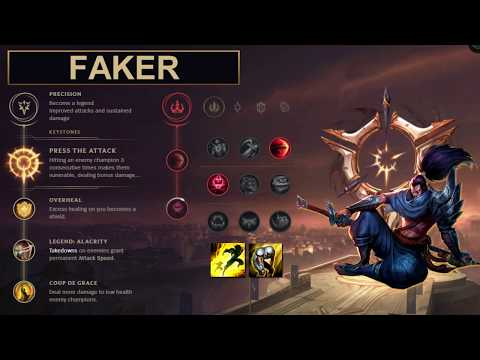 SKT Faker Build Yasuo - New Runes Season 8 solo vs Viktor (League of Legends Guide)