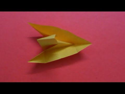 How to make a Paper Sail Boat   2