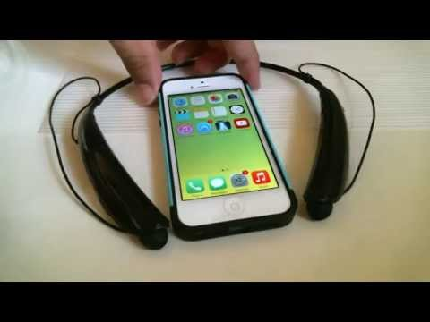 How to connect LG Tone Bluetooth Wireless to Iphone 5
