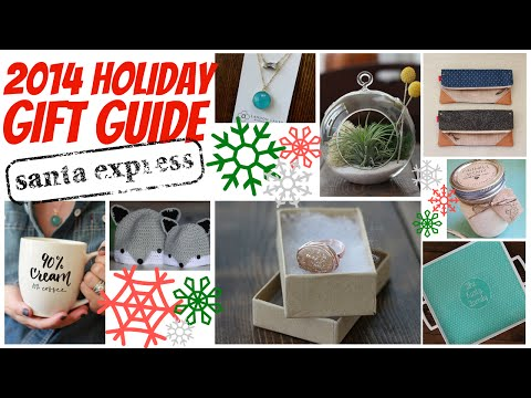 ❄ Holiday Gift Guide 2014 | Gifts For Her, Friends & Family ❄