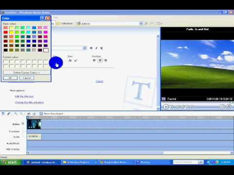 How To Make Cool Intro Using Windows Movie Maker (COMPLETELY FREE)