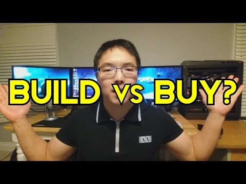 Should You Build or Buy a Gaming PC? Are Origin PCs and Steam Machines Worth the Money?