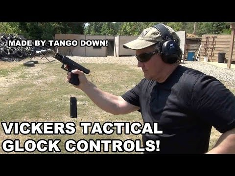Vickers Tactical Glock Controls! Improved Ergonomics by Tango Down