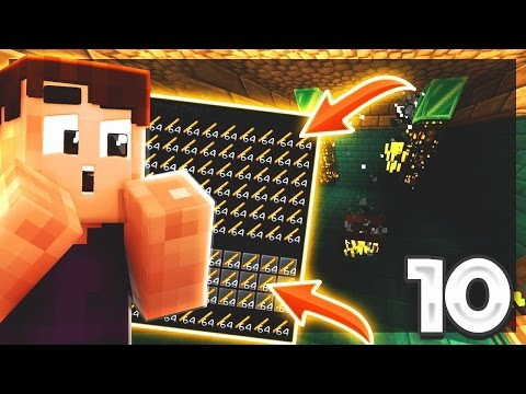 MAKING AN EASY AND EFFICIENT BLAZE FARM! | Minecraft SKYBLOCK EPISODE #10