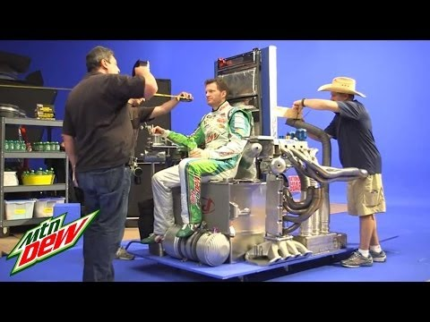 Mountain Dew Commercial - Behind The Scenes | Living Portraits