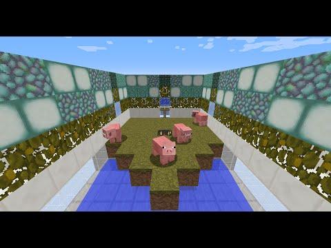 Minecraft 1.11: Automatic Pig/Cow/Sheep/Rabbit Spawner Farm