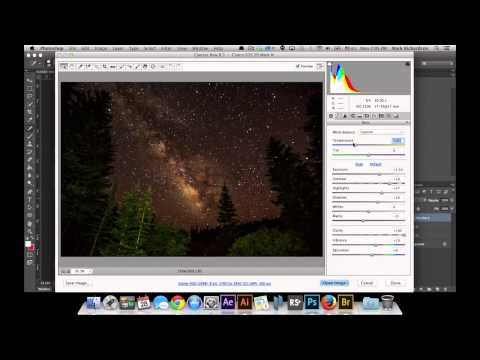 How to Post Process your Photos of the Milky Way in Photoshop