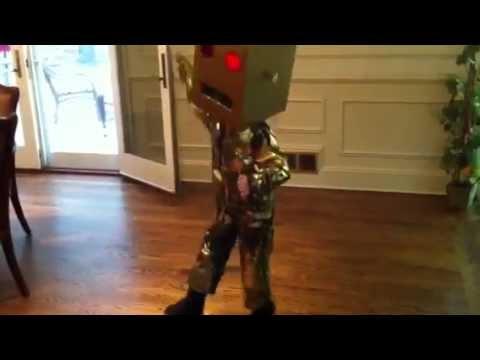 Lmfao robot freestyle