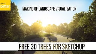 Free High Quality 3d Trees for Renders in Sketchup-   Arch Viz   -Laubwerk