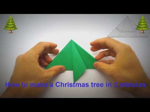 How to make Amazing Christmas Tree in 2 min | Artificial Christmas Tree