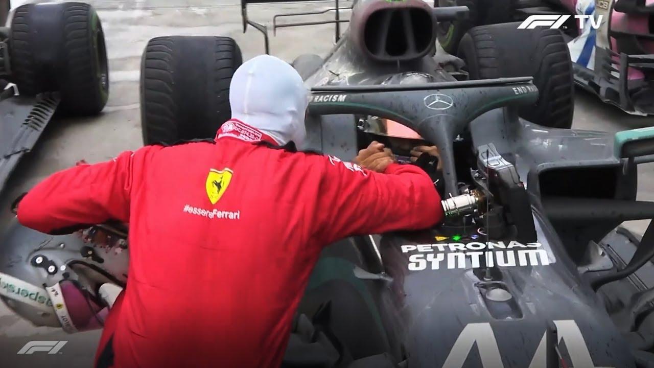 VETTEL congratulates HAMILTON on his 7th title Moment of RESPECT F1 Turkish GP 2020