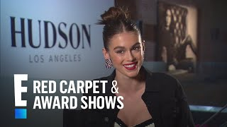 Kaia Gerber Lands First Jeans Campaign With Hudson | E! Red Carpet & Award Shows