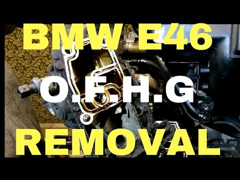 Oil filter housing gasket BMW e46 M52TU/M54