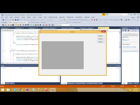 C# Tutorial - Dynamically Loading User Control | FoxLearn