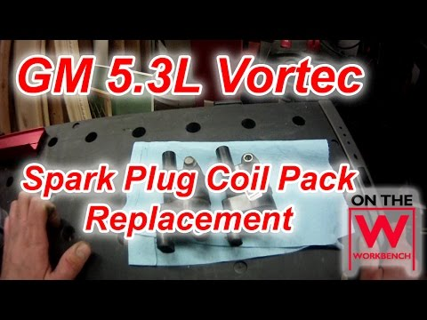 GM Spark Plug Coil Pack Replacement & Mass Air Flow Sensor Cleaning