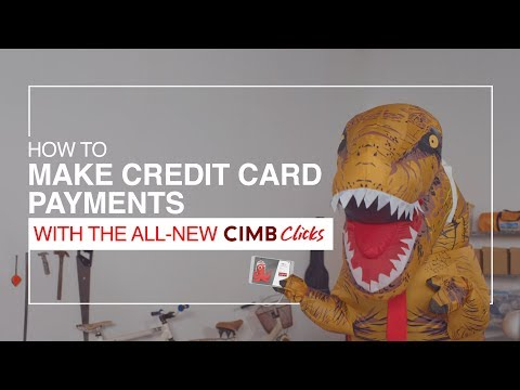 Make Credit Card Payments with the All-New CIMB Clicks