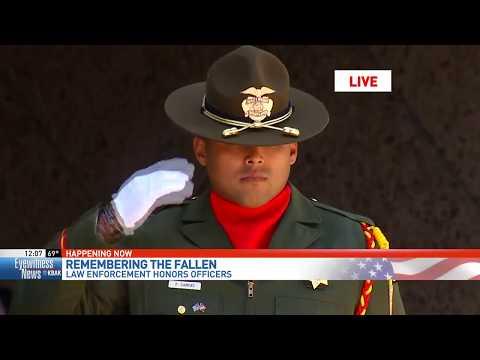 Local law enforcement agencies hold memorial ceremonies as part of National Police Week