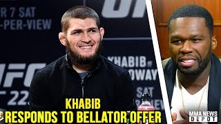 50 Cent offers Khabib $2 million to join Bellator; Khabib responds; Max on DC; Lee on Conor rematch