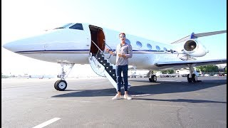 $50 MILLION DOLLAR PRIVATE JET
