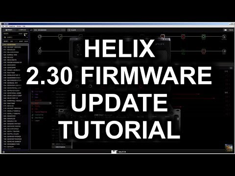 Line 6 Helix 2.30 Firmware Update Procedure Tutorial - by Glenn DeLaune