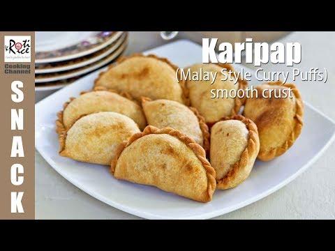 Karipap (Malay Style Curry Puffs) | Roti n Rice