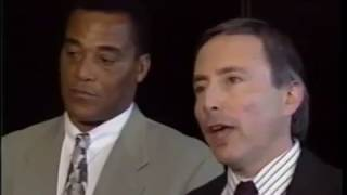 (1994) News Report - AL Cowlings In Court for Bronco Chase