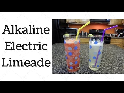 Limeade Dr.Sebi Alkaline Electric Recipe