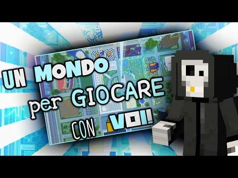 UN MONDO PER GIOCARE CON VOI!   Minecraft [PS4] ITA Server