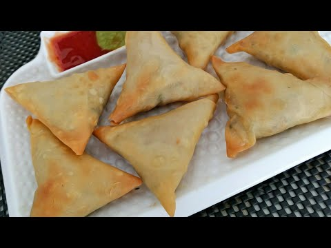 How To Make Chicken Samosa And Samosa Patti || Ramadan Special || Sanobar's Kitchen