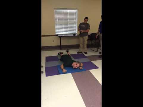 Taser Training Kelly Clarkson