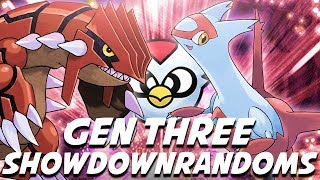 SWEPT BY A DELIBIRD?! GEN THREE RANDOM BATTLES! Pokemon Showdown Random Battles w/ ShadyPenguinn