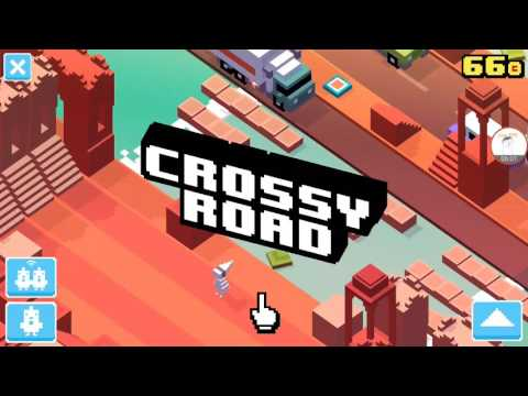 How to get all secret characters in crossy road