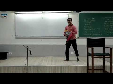 FTII Film division and National School Of Drama - Improvisation Exercise