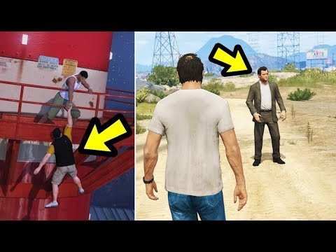 GTA 5 - What happens if you try to warn Michael?