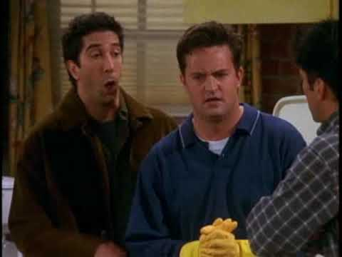 FRIENDS - Joey Gets Tips on How to Repel Women