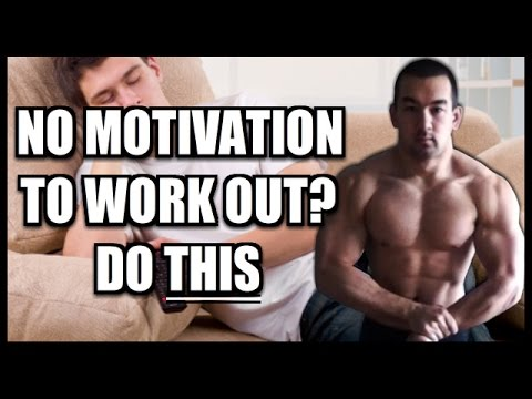 No Motivation To Work Out? Here's What To Do