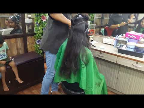 How to Cut Thick and Long Hair